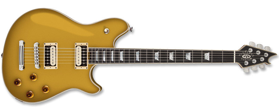 EVH Wolfgang Custom Deluxe USA Gold
