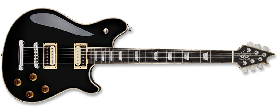 EVH Wolfgang Custom Deluxe USA Black