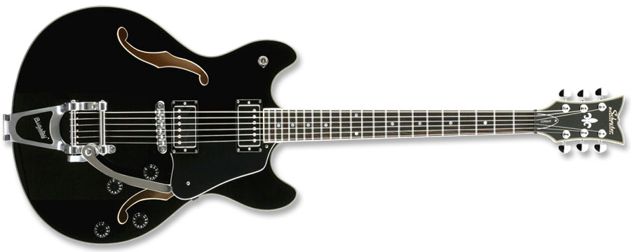 Schecter Corsair Gloss Black