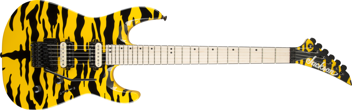 Jackson DK2M Pro Dinky Yellow Tiger