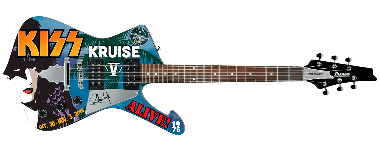 Ibanez Paul Stanley PS40 KISS Kruise V