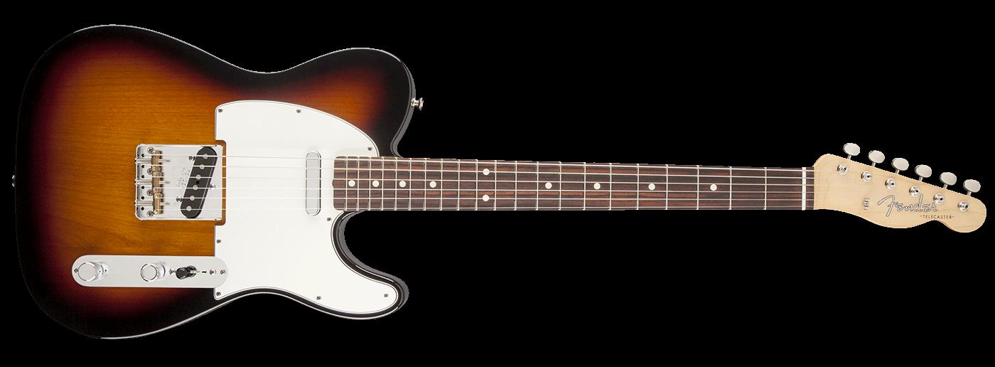 Fender Baja Classic Player '60s Telecaster Sunburst