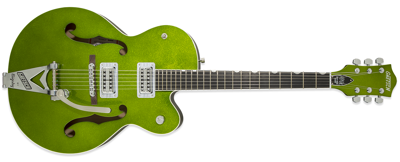 Gretsch G6120SH Brian Setzer Hot-Rod Green Sparkle