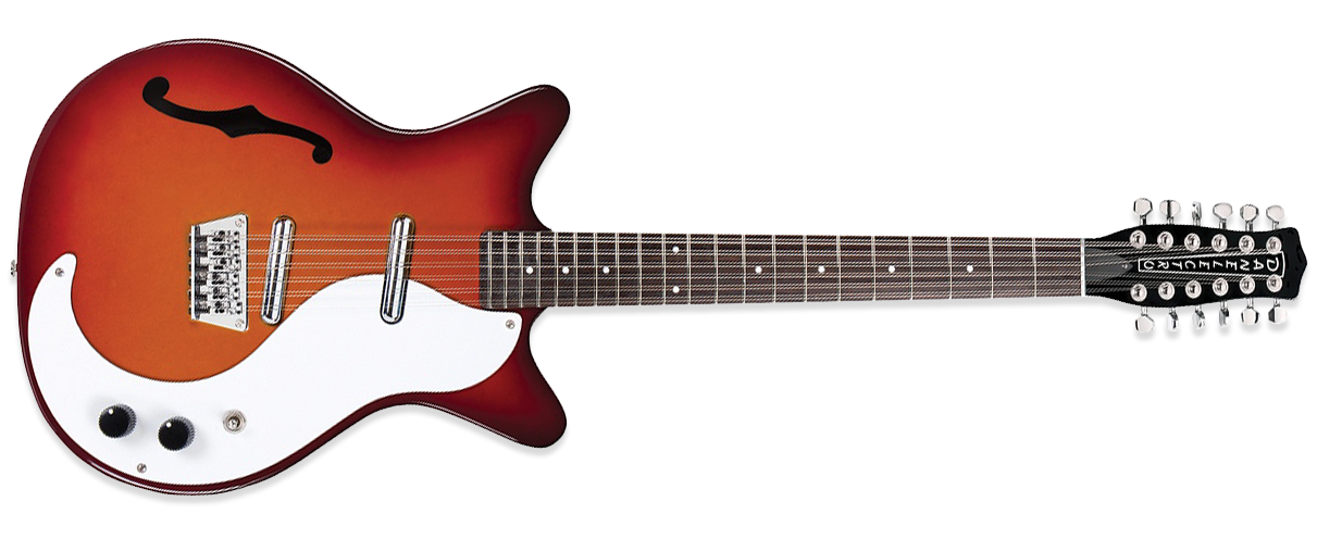 Danelectro DC59 12 string Cherry Burst