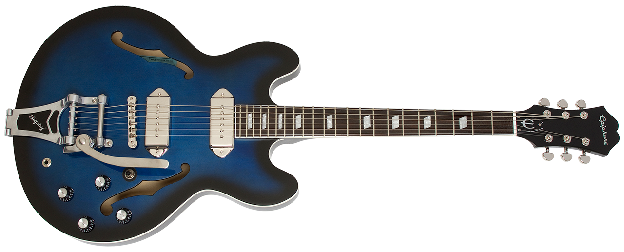 Epiphone Gary Clark Jr Blak and Blu Casino