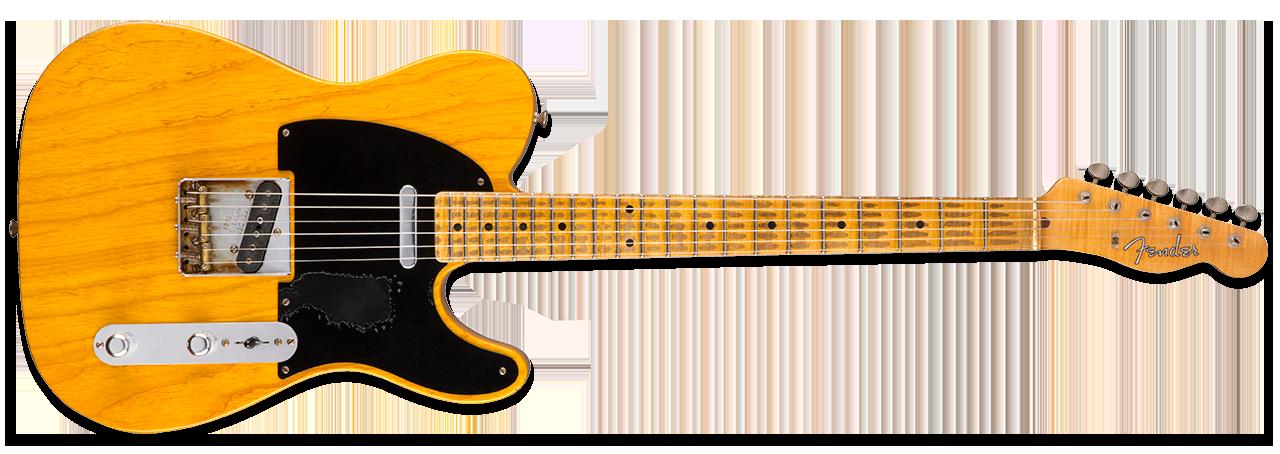 Fender Mike Campbell Heartbreaker Broadcaster