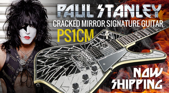 Ibanez PS1CM Paul Stanley cracked Mirror