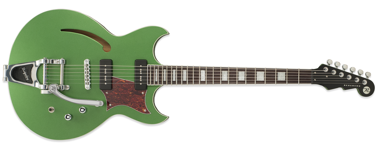 Reverend Tricky Gomez 290 Satin Emerald Green