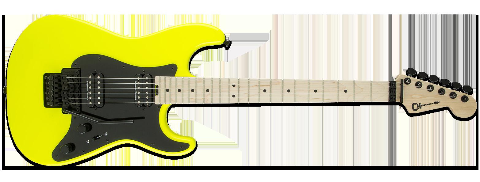 Charvel Pro-Mod So-Cal Style 1 Neon Yellow