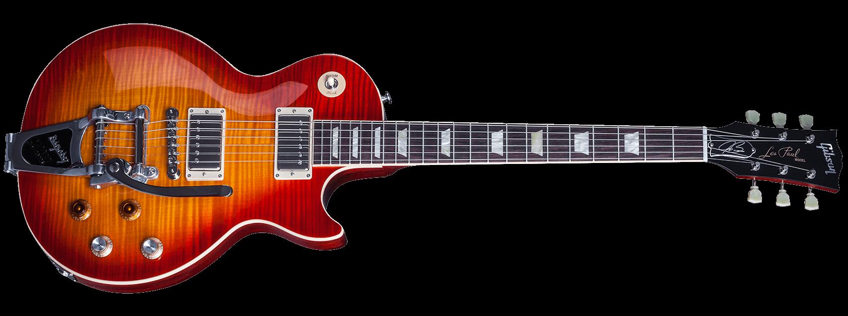 Gibson Les Paul Joe Bonamassa Tomato Soup Burst Bigsby