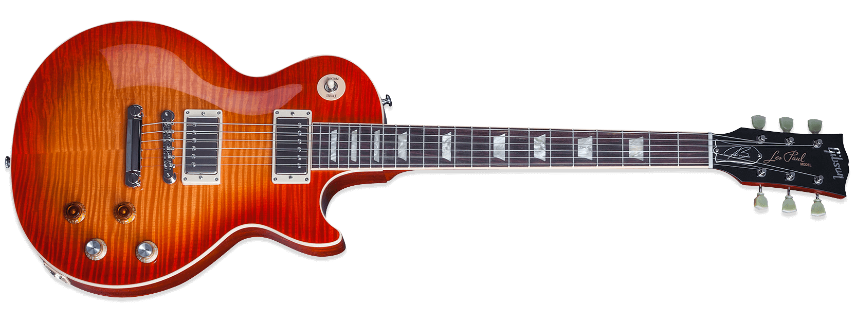 Gibson Les Paul Joe Bonamassa Tomato Soup Burst