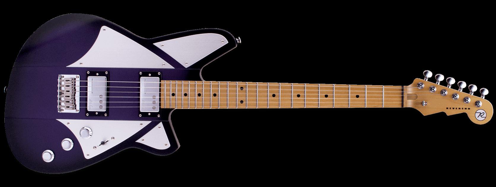 Reverend Billy Corgan BC1 Satin Purple Burst