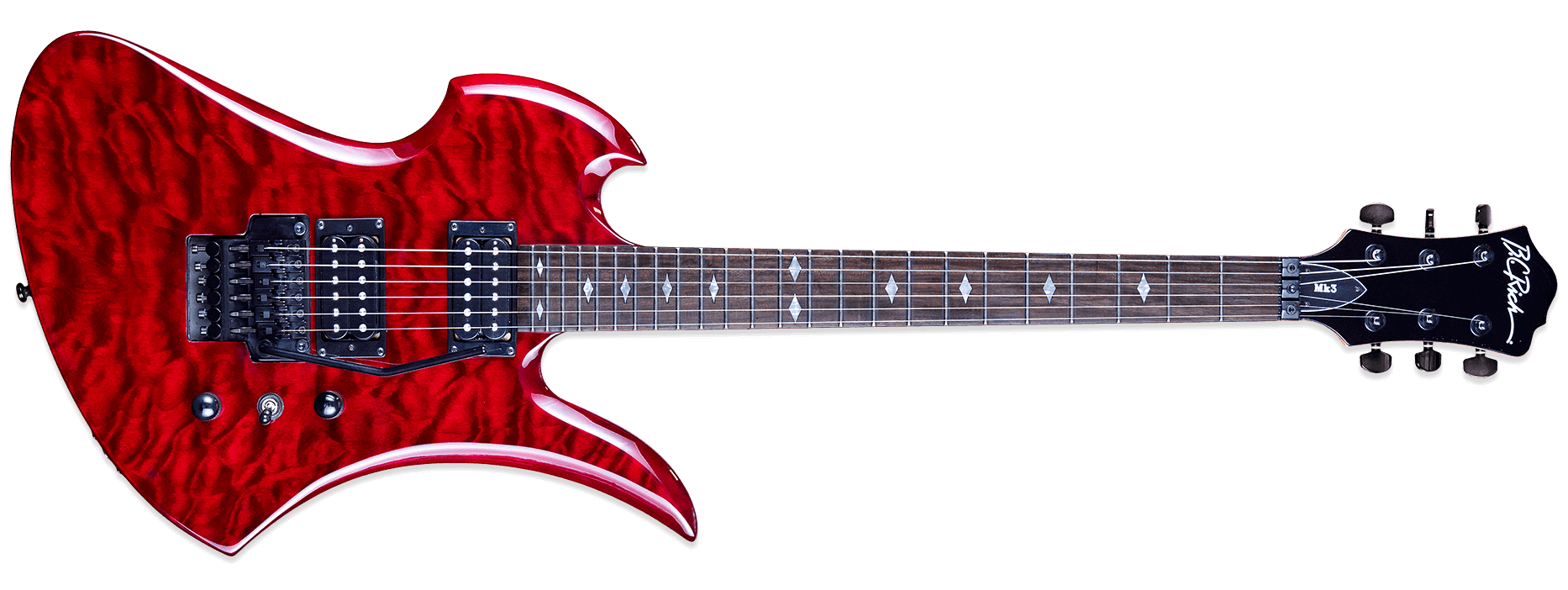 BC Rich Mk3 Mockingbird Cherry Red