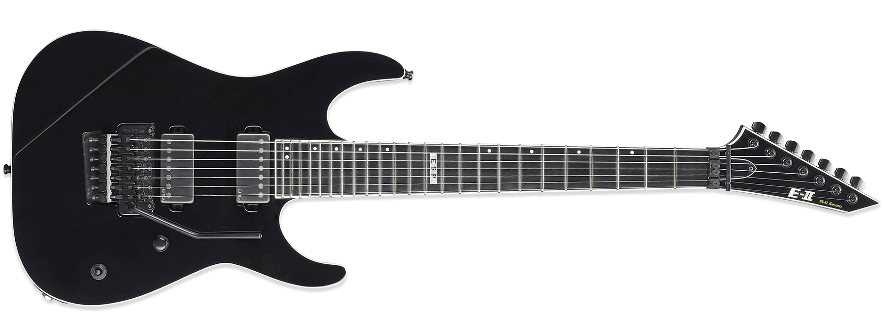 ESP E-II M-II Seven BLK