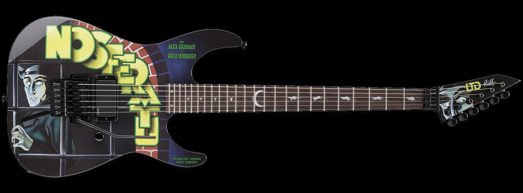 ESP LTD KH-Nosferatu Kirk Hammett Nosferatu
