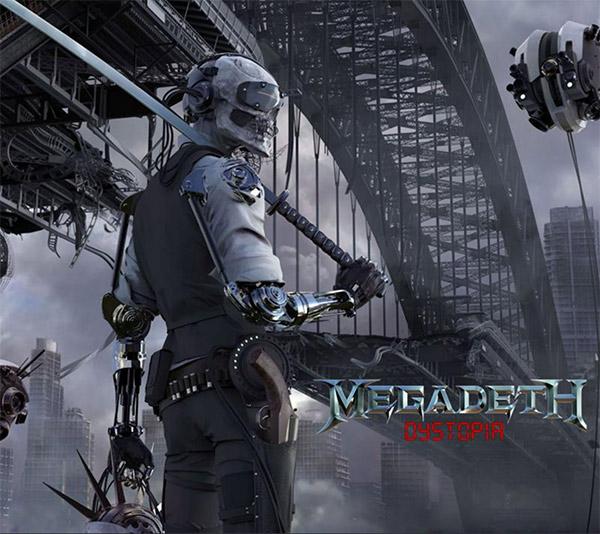 album artwork Megadeth Dystopia