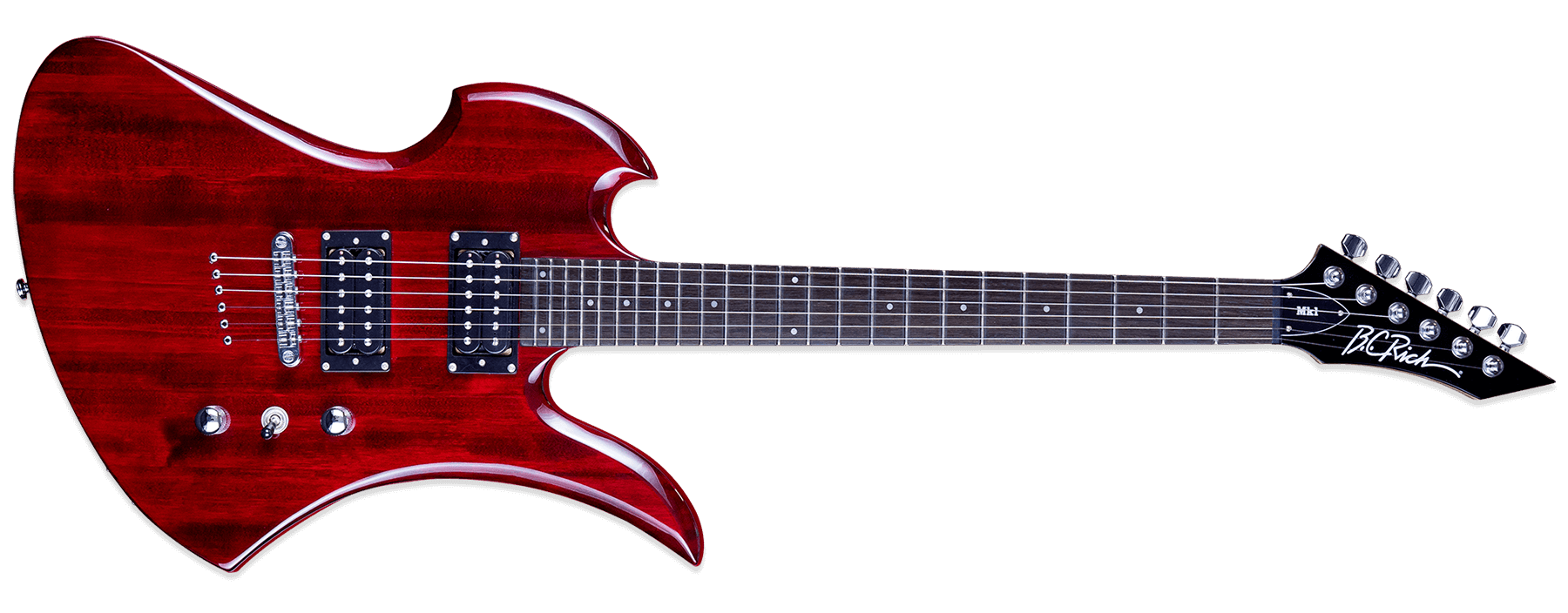 BC Rich Mk1 Mockingbird Cherry Red