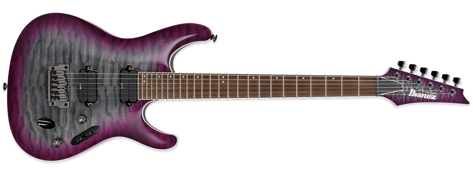 Ibanez S Prestige S5521Q Dark Purple Doom Burst