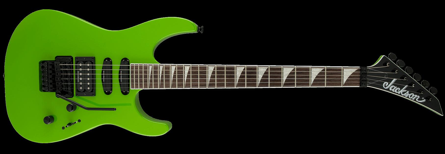 Jackson X Series Soloist SL3X Slime Green
