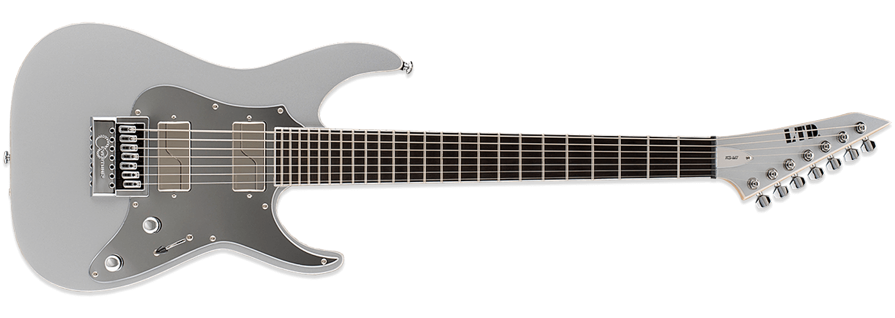 ESP LTD Ken Susi KS-M7 ET Metallic Silver