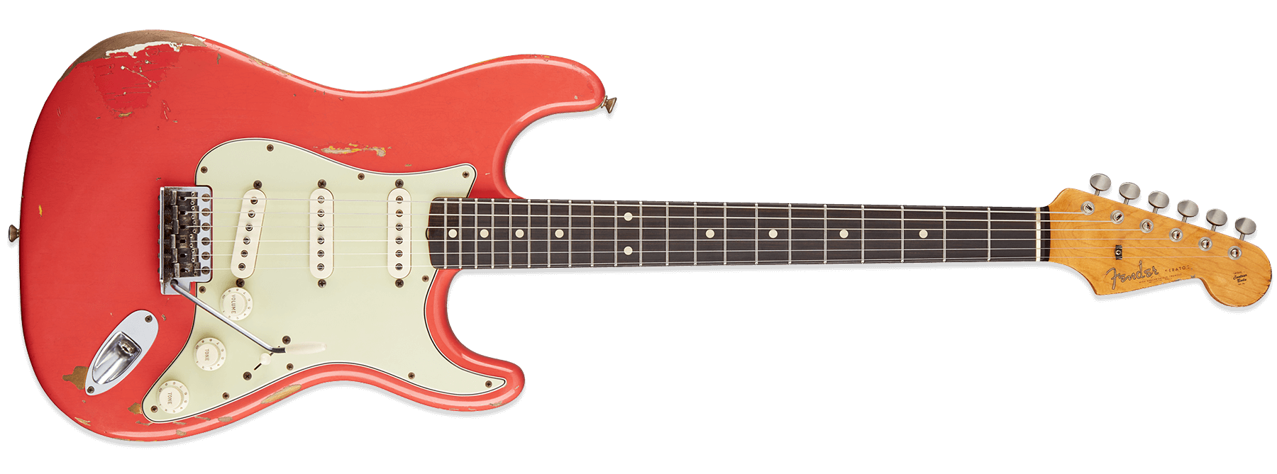 Fender Custom Shop Gary Moore Stratocaster Fiesta Red