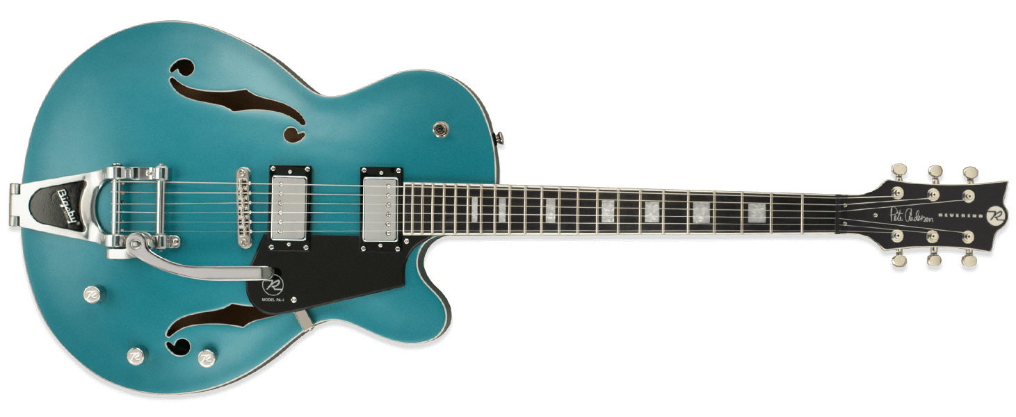 Reverend Pete Anderson PA-1 HB Custom Satin Deep Sea Blue