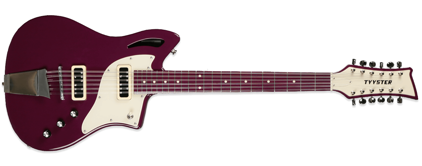 Tyyster Pelti 12 String Purple