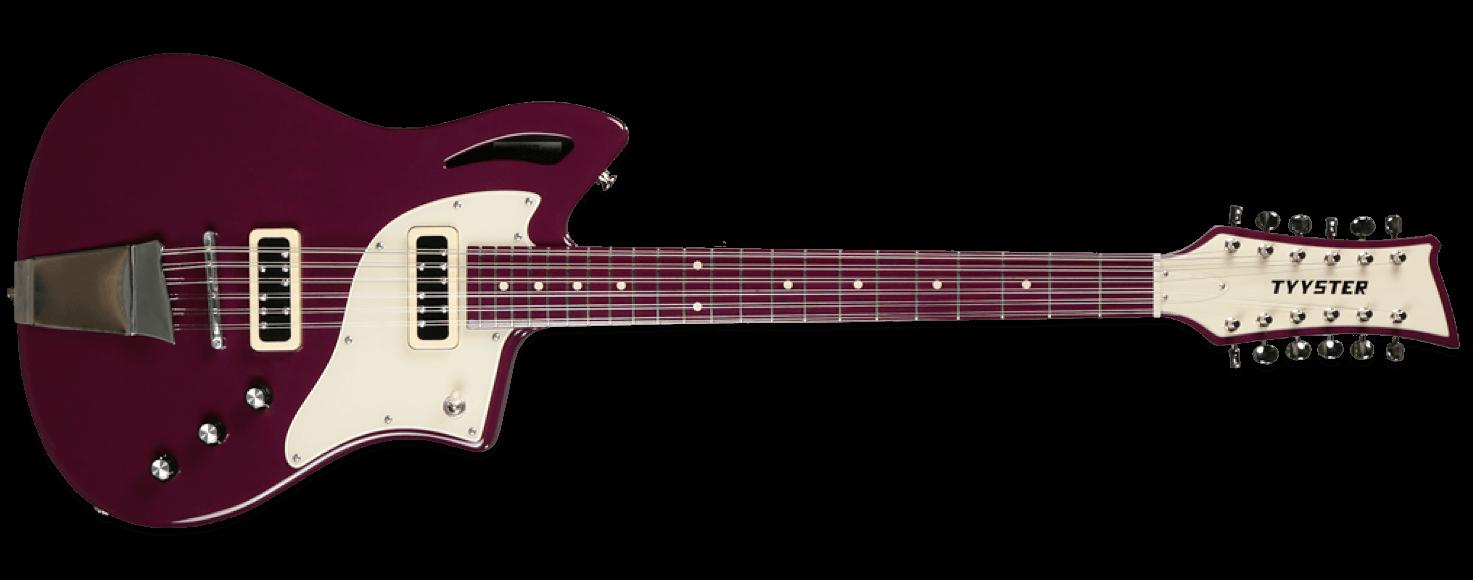 Tyyster Pelti 12 String Purple