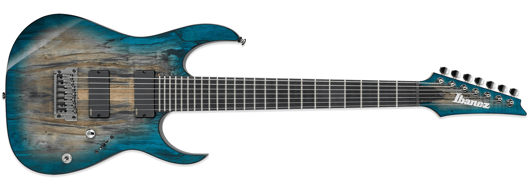 Ibanez RGIX27FESM FSL Iron Label Foggy Stained Blue