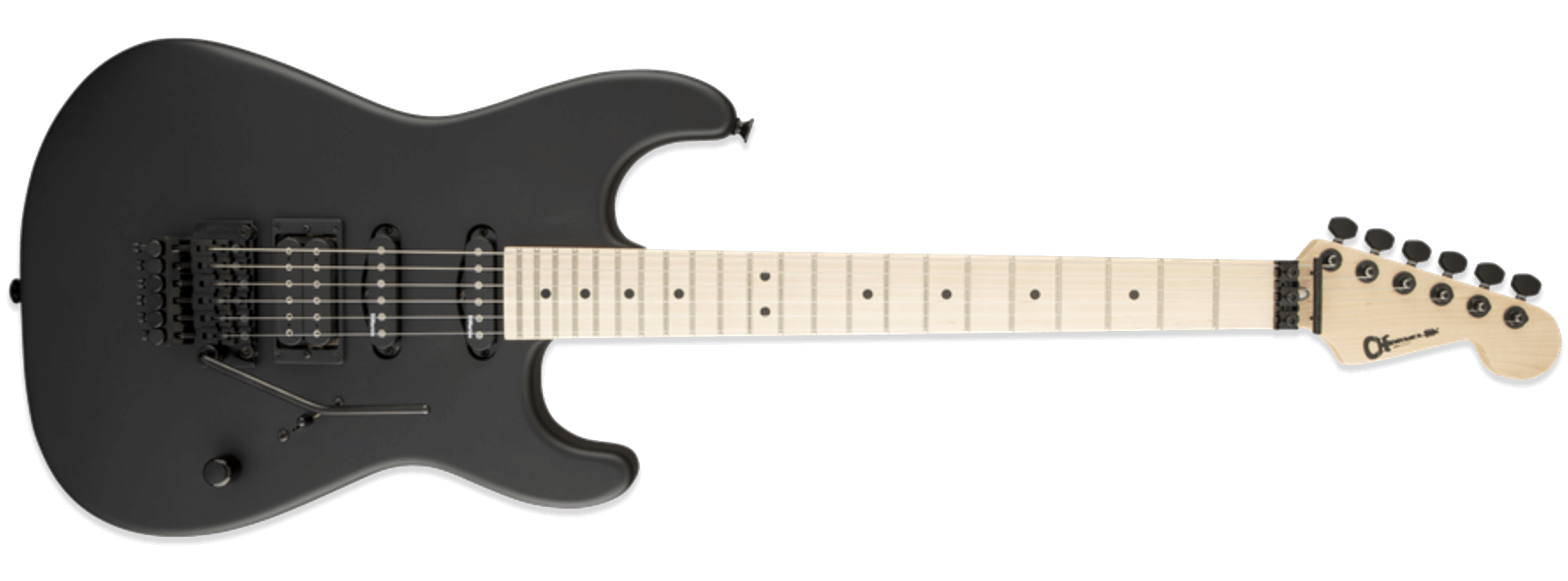 Charvel USA Select San Dimas Style 1 HSS FR Pitch Black
