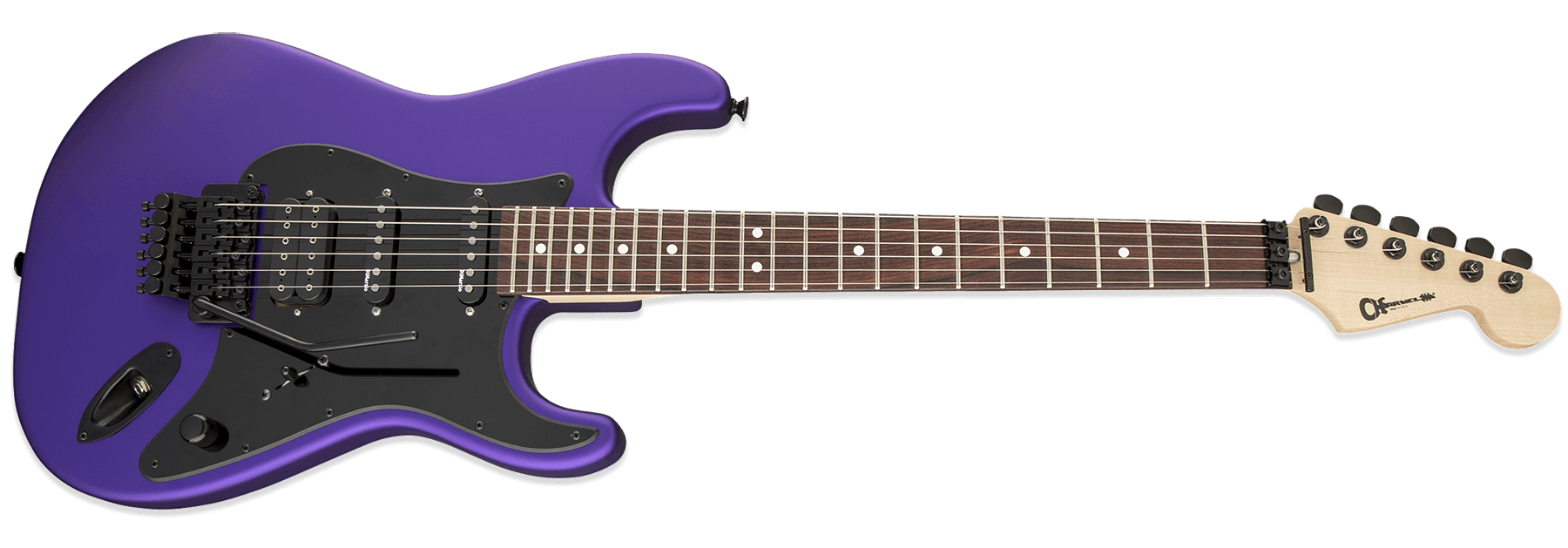 Charvel USA Select So-Cal Style 1 HSS FR Satin Plum