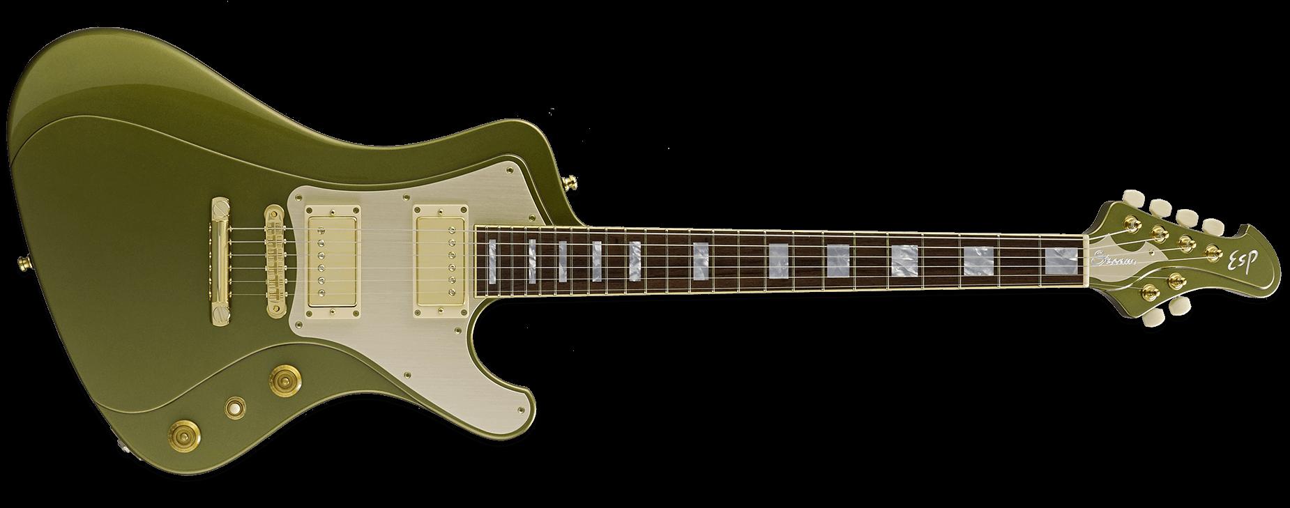 ESP Stream GT Classic Citron Green