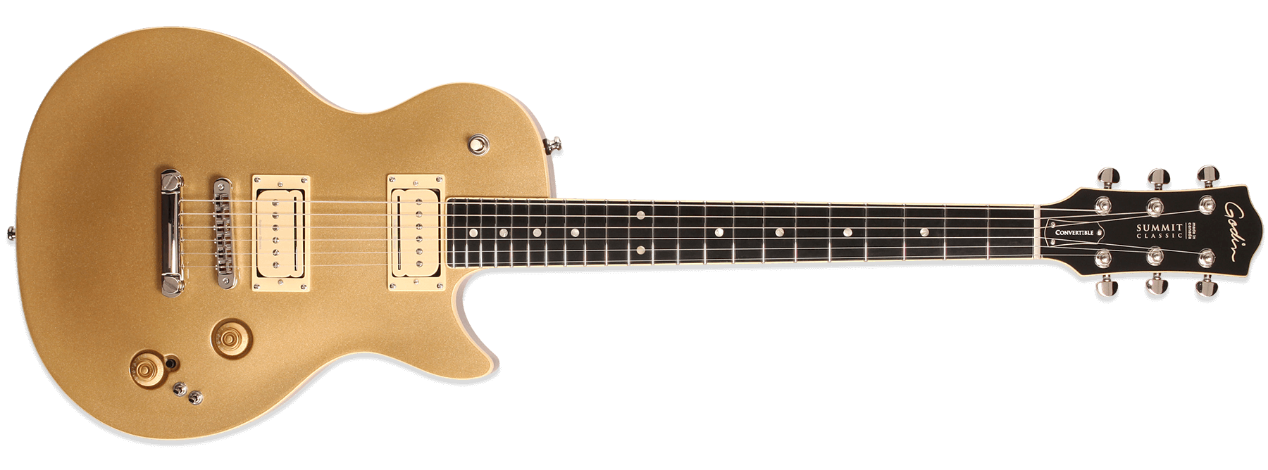 Godin Summit Classic CT Convertible Gold
