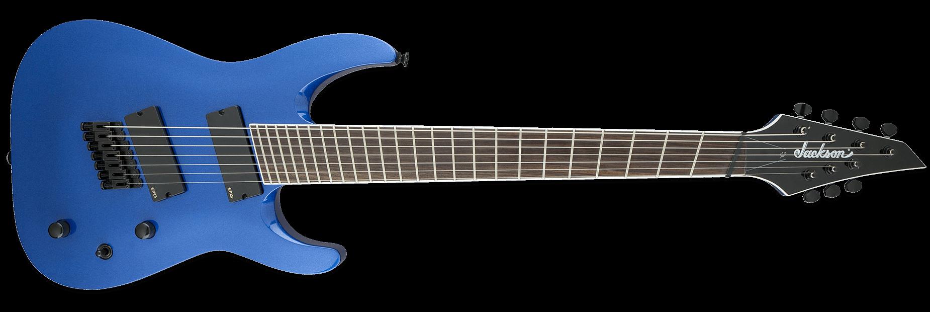 Jackson X Series Soloist Archtop SLAT7 MS Metallic Blue