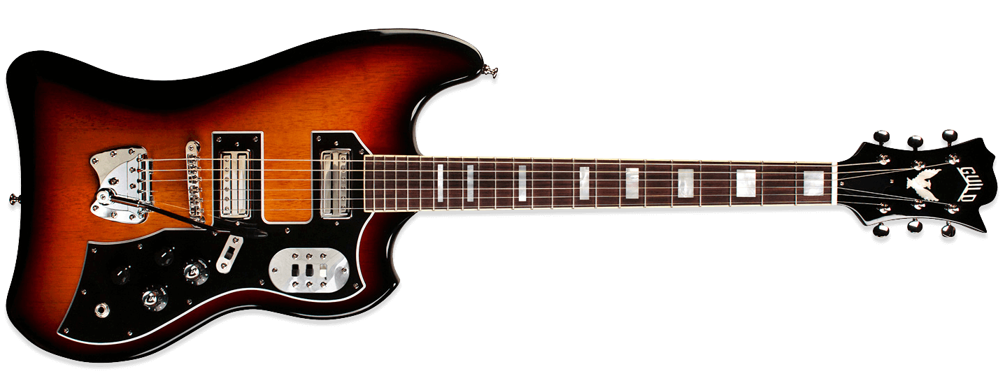 Guild S-200 T-Bird Antique Burst