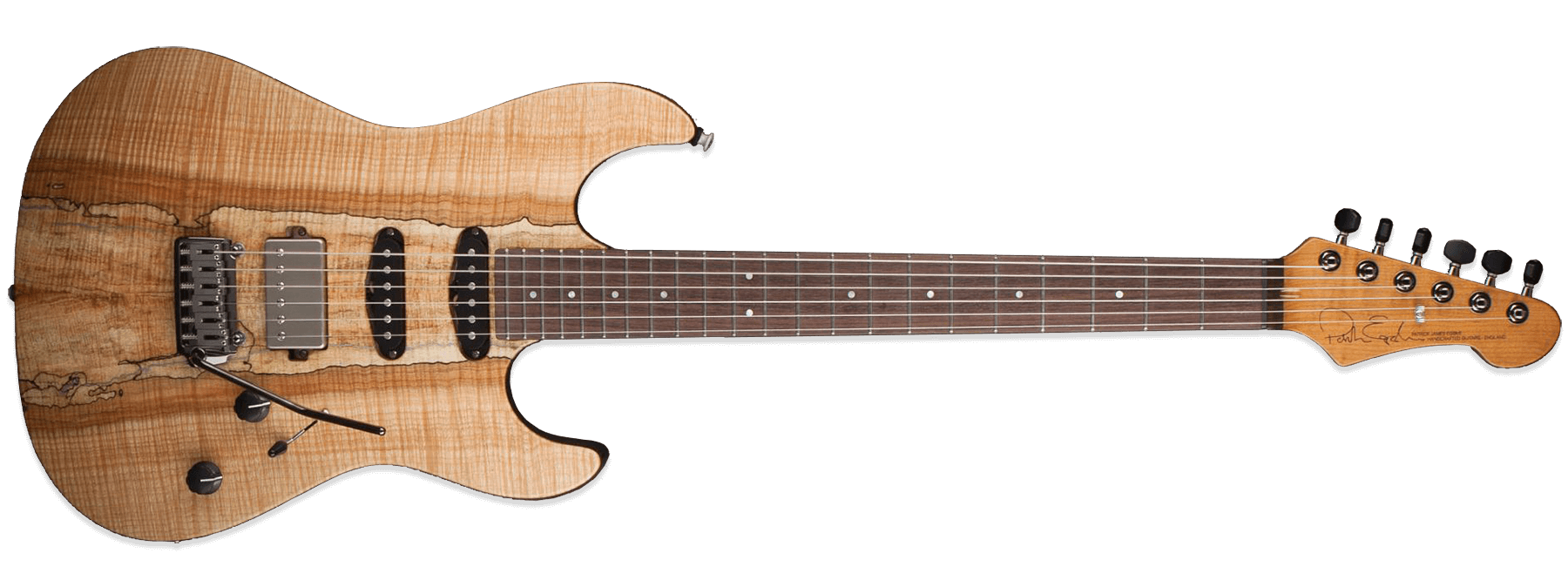 Patrick James Eggle 96 Drop Top Twin Spalted