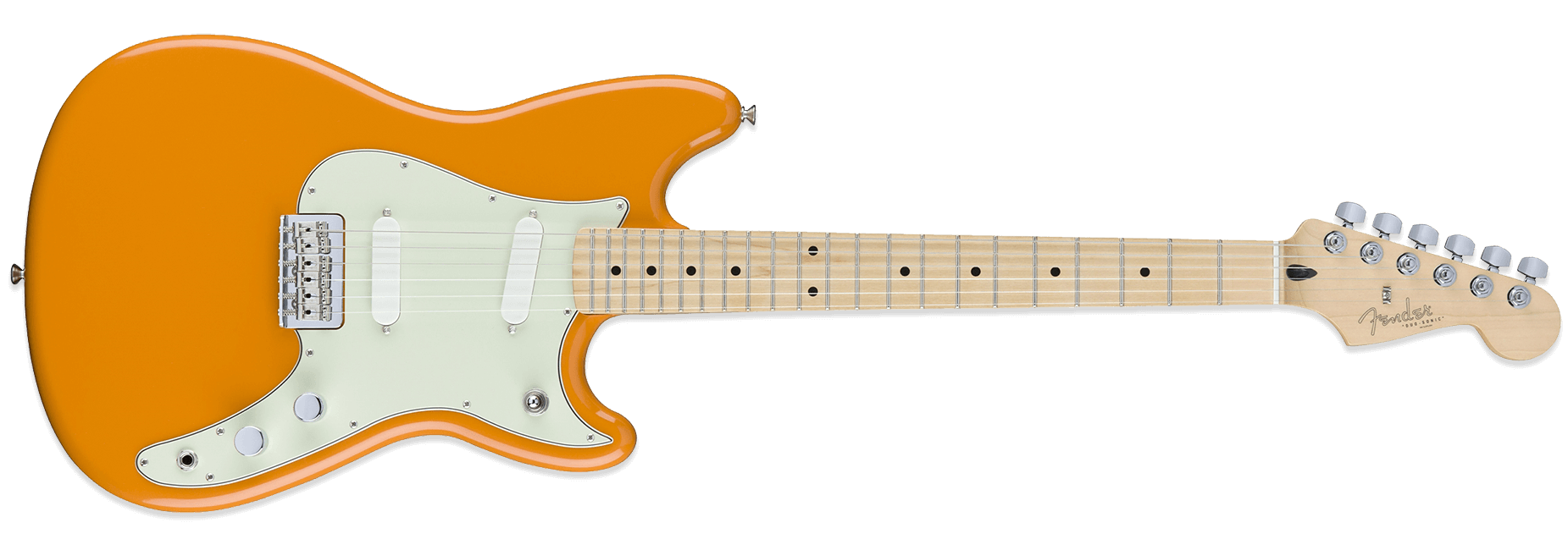 Fender Duo-Sonic Capri Orange