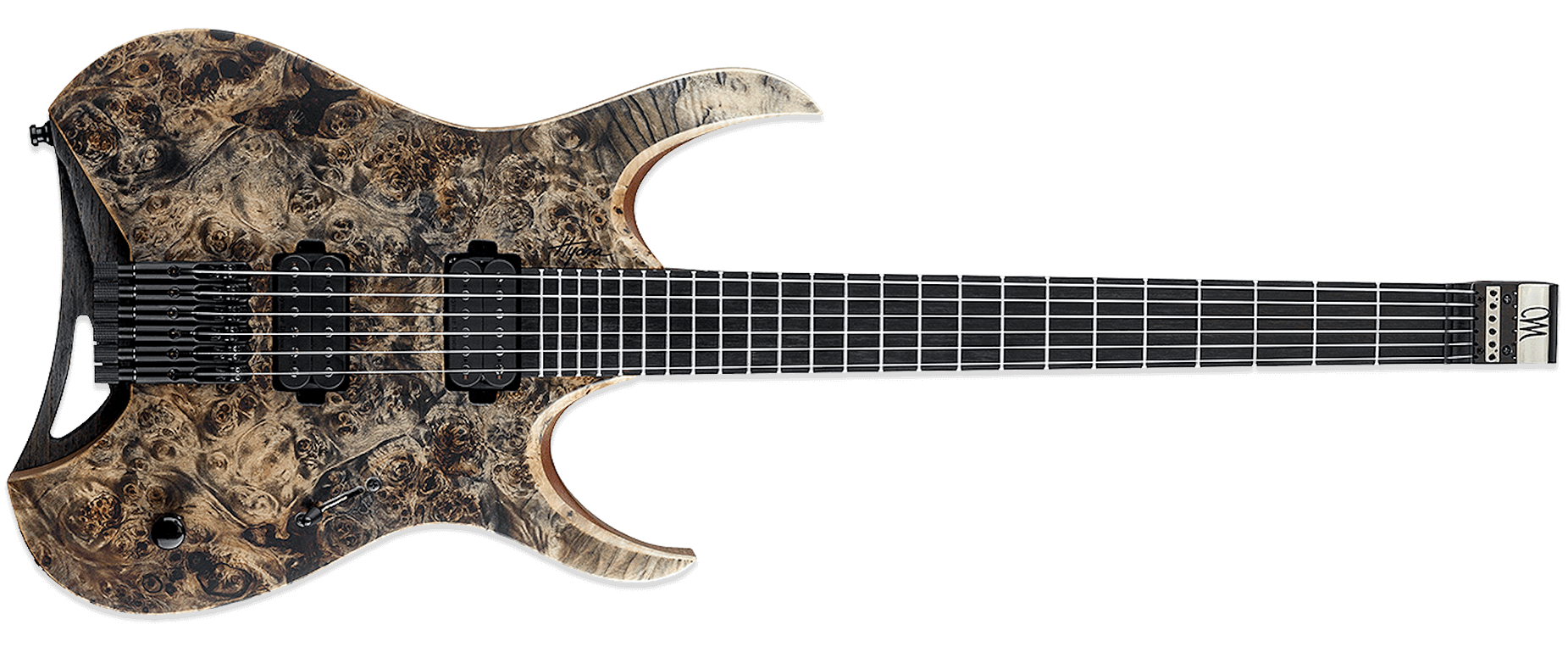 Mayones Hydra Elite 6 Transparent Graphite