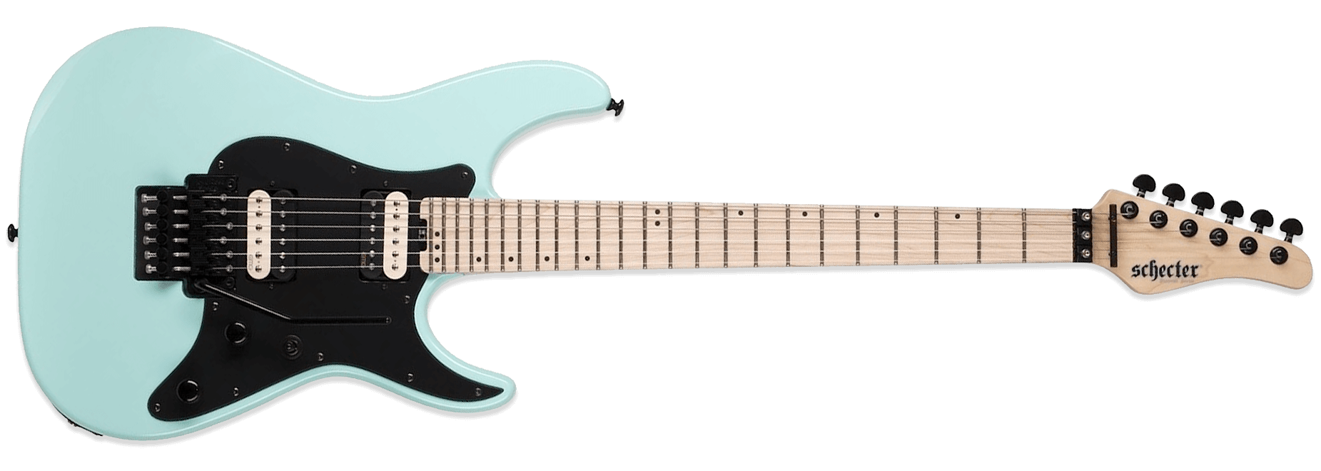 Schecter Sun Valley Super Shredder FR Sea Foam Green