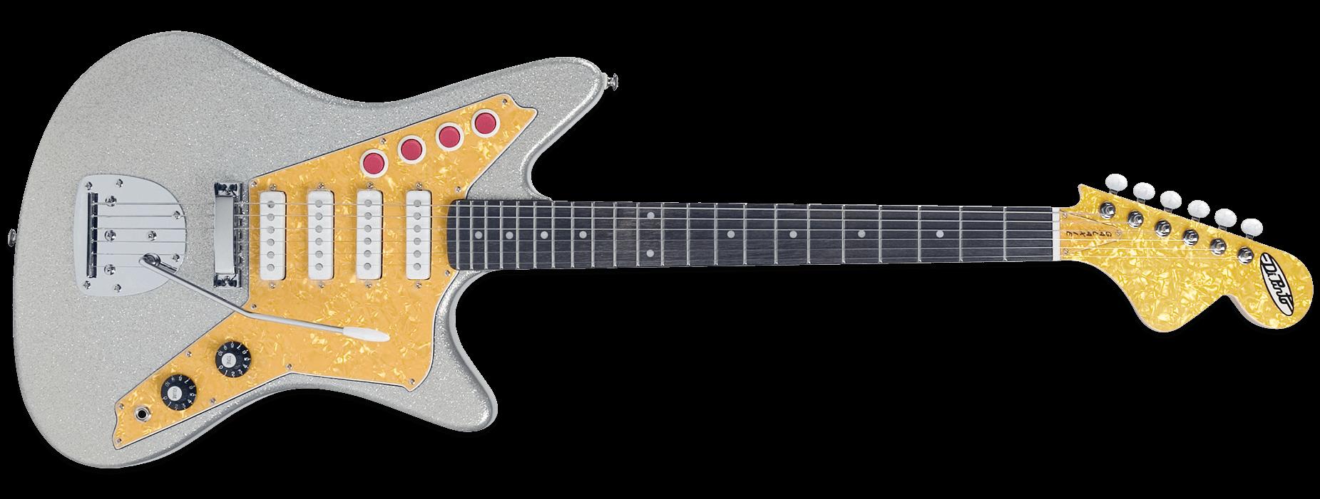 DiPinto Galaxie 4 Deluxe Silver