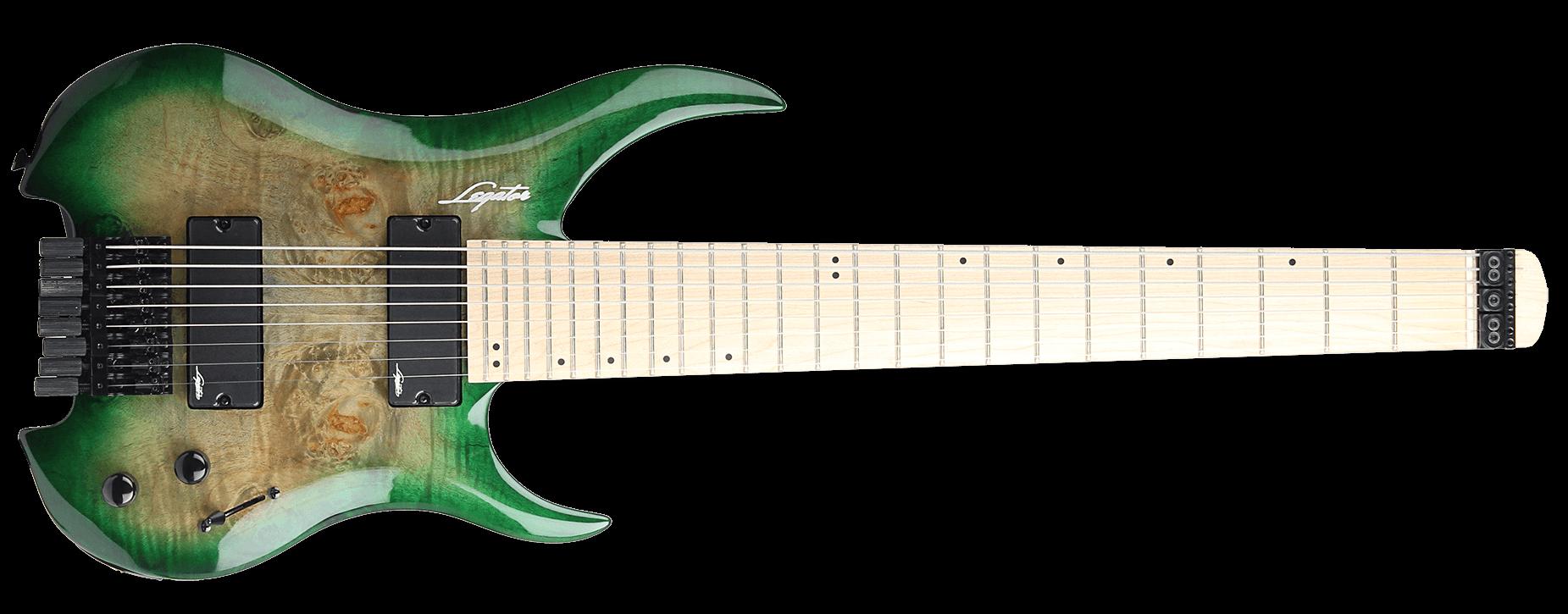 Legator Ghost 200-SE 8 Emerald Burst Burl
