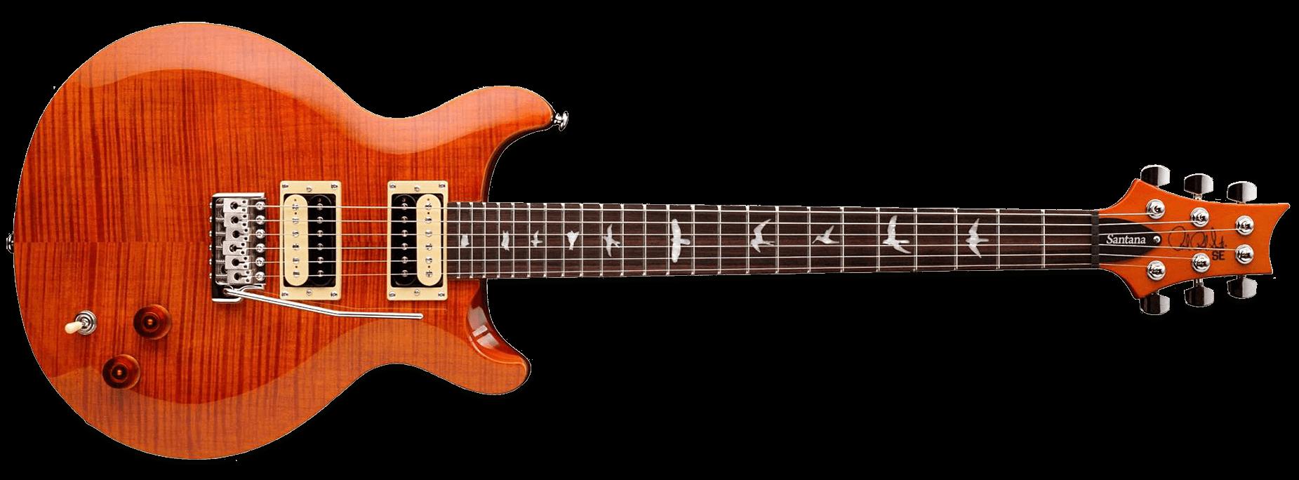 PRS SE Santana 2017 Orange