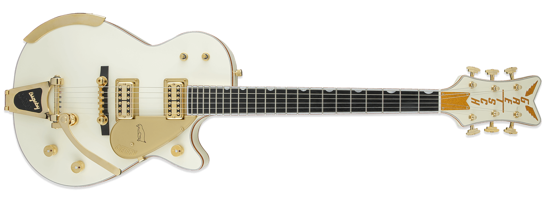 Gretsch G6134T-58 Vintage Select '58 Penguin Vintage White