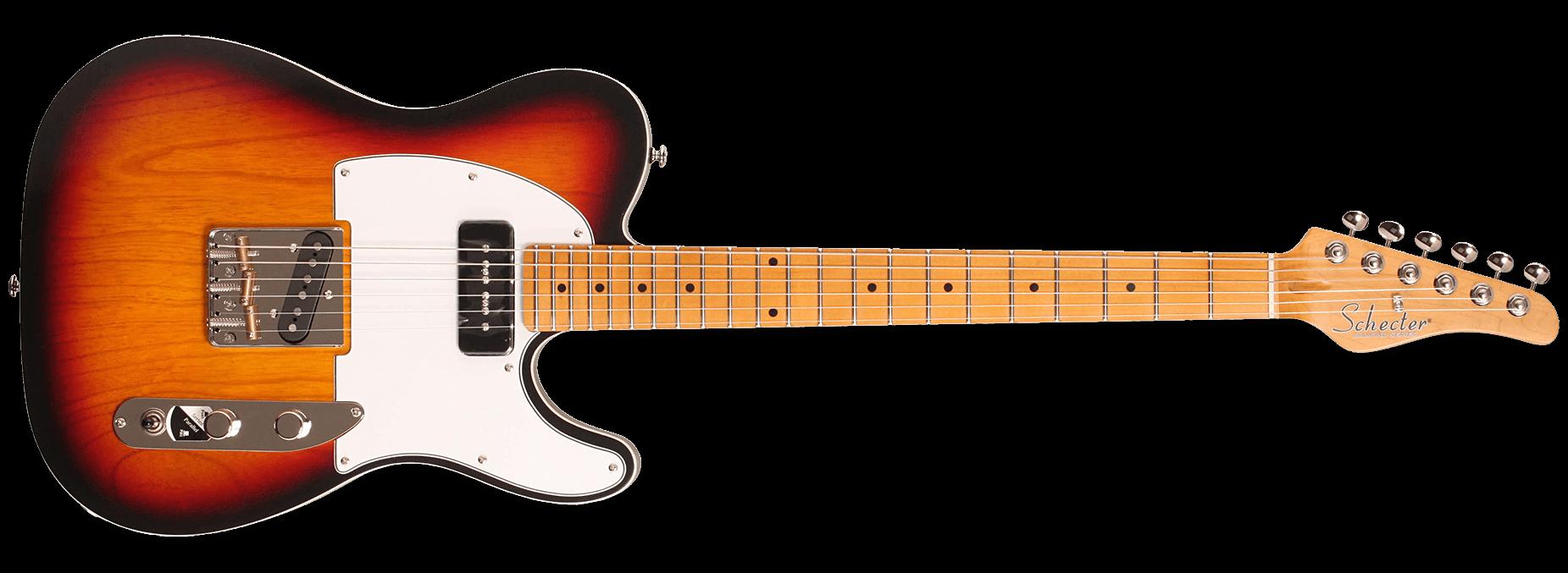 Schecter PT Special 3-Tone Sunburst