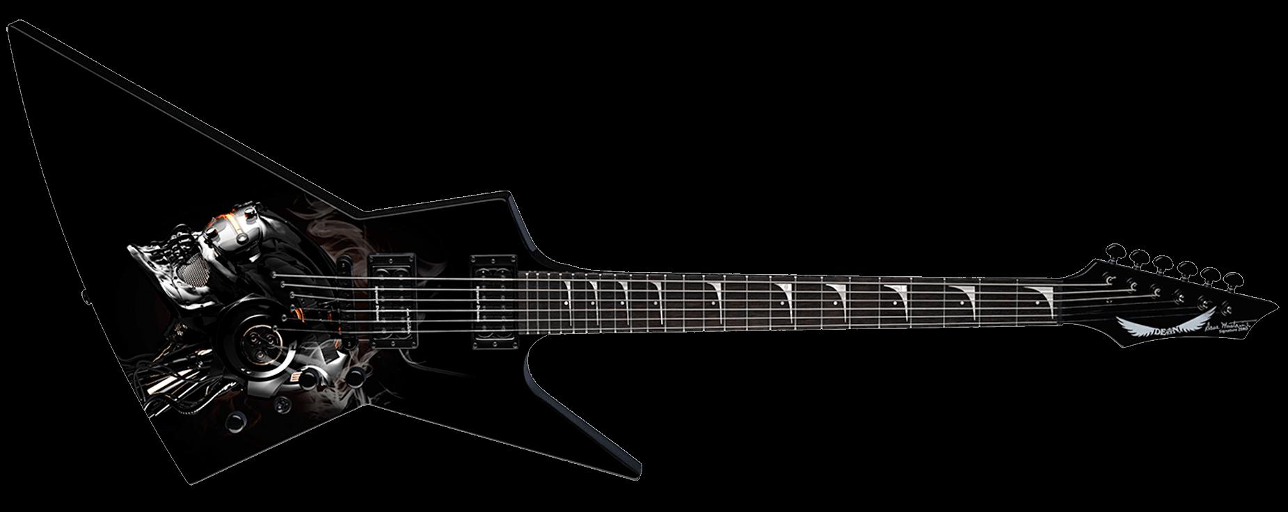 Dean Zero Dave Mustaine Vic Rattlehead