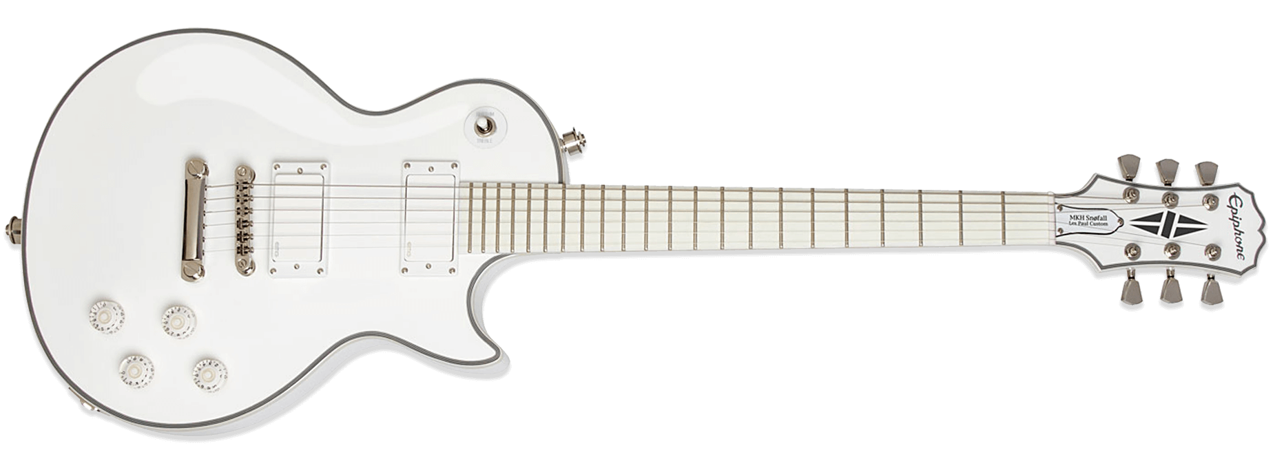 Epiphone Matt Heafy Snofall Les Paul Custom 6 Alpine White