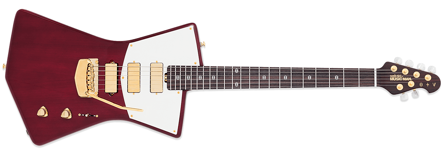 Ernie Ball Music Man St Vincent Heritage Red