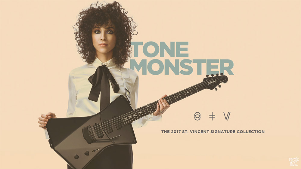 Ernie Ball Music Man St Vincent 2017 signature collection