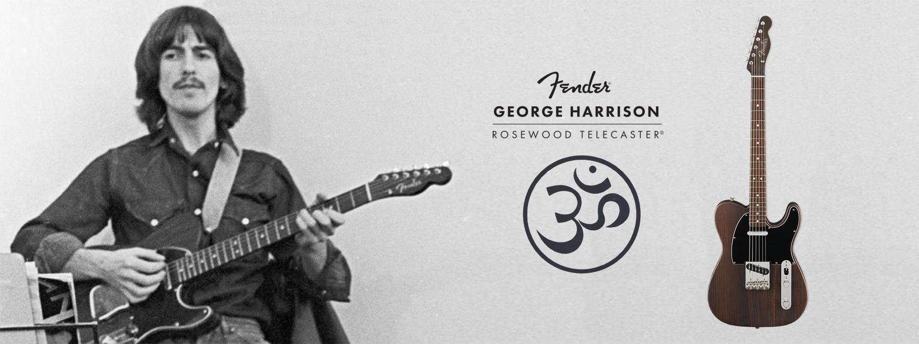 banner George Harrison Rosewood Telecaster