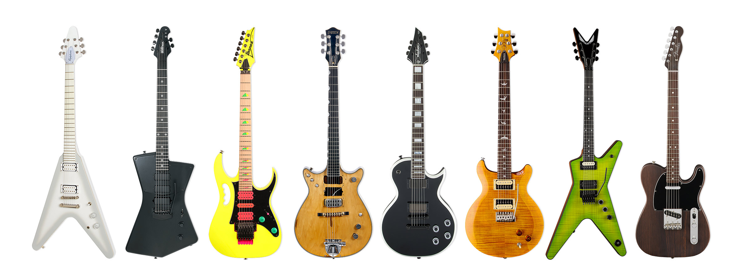 Guitar of the Year 2017 artist signature category